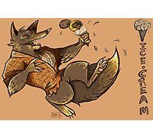 MONSTER ICE CREAMS - Chocolate werewolf Photographic Print