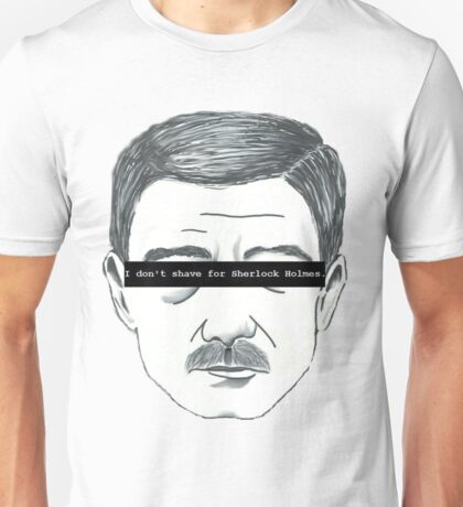 The 'Stache Stays Unisex T-Shirt