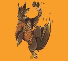 MONSTER ICE CREAMS - Chocolate werewolf T-Shirt