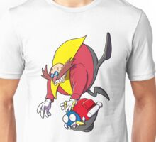 Doctor Eggman as his finest Unisex T-Shirt