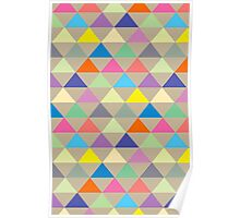 Triangles: Neutral Poster