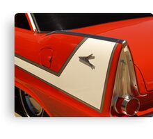 Car Fin Canvas Print