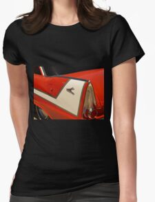 Car Fin Womens Fitted T-Shirt