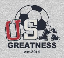 USA Greatness One Piece - Short Sleeve