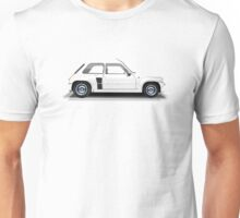 Renault 5 Turbo (white) Unisex T-Shirt