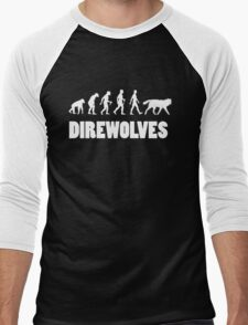 Direwolves Men's Baseball ¾ T-Shirt