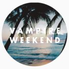 Vampire Weekend - Palm Trees Sunset by RockandRoll Maker
