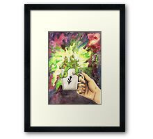 Eldritch In Your Cup Framed Print