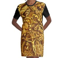 SARDEGNA Graphic T-Shirt Dress