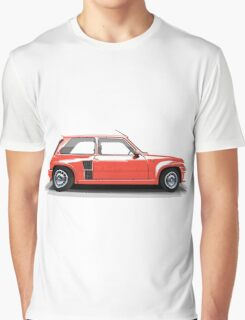 Renault 5 Turbo (red) Graphic T-Shirt