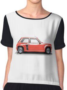 Renault 5 Turbo (red) Chiffon Top