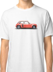 Renault 5 Turbo (red) Classic T-Shirt