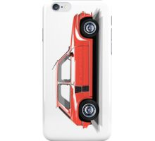 Renault 5 Turbo (red) iPhone Case/Skin