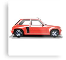 Renault 5 Turbo (red) Metal Print