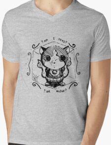 Schrodingers jibanyan Mens V-Neck T-Shirt