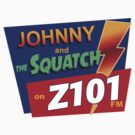 Johnny and the Squatch by zorpzorp