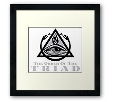 Order of the Triad - The Venture Brothers Framed Print