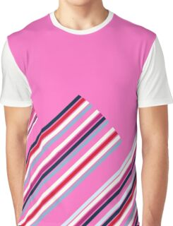 Luxury Artistic Fashion Collection with Retro Vintage Stripes - Luxury Collection Graphic T-Shirt