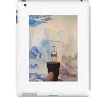 watercolor/ink light bulb iPad Case/Skin