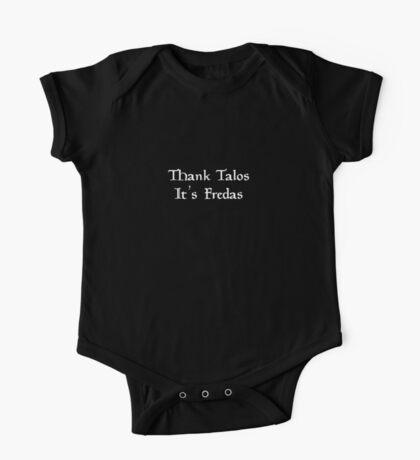 Thank Talos it's Fredas One Piece - Short Sleeve