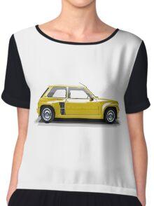 Renault 5 Turbo (yellow) Chiffon Top