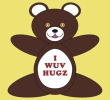 I Wuv Hugz Kids Tee