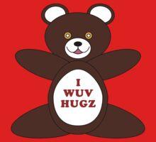 I Wuv Hugz One Piece - Short Sleeve