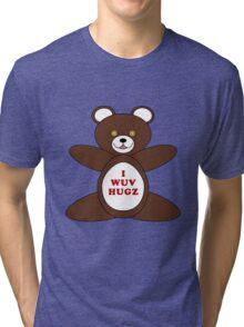 I Wuv Hugz Tri-blend T-Shirt
