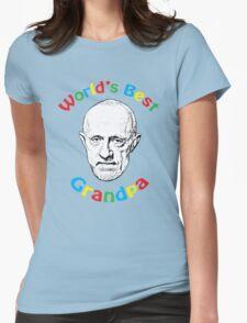 World's Best Grandpa Womens Fitted T-Shirt