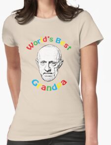 World's Best Grandpa Womens Fitted T-Shirt