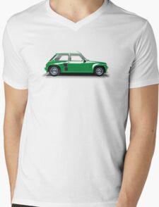 Renault 5 Turbo (green) Mens V-Neck T-Shirt
