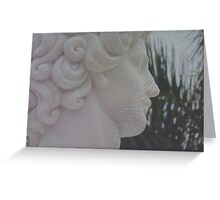 Deep Statue Greeting Card