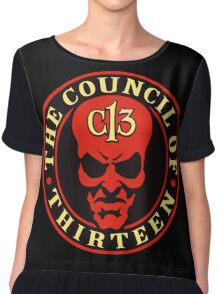 Council of 13 - Guild of Calamitous Intent Chiffon Top