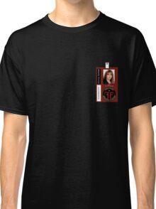 Fringe Parallel Universe Olivia Dunham ID Badge Shirt Classic T-Shirt