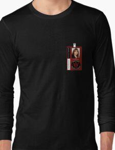 Fringe Parallel Universe Olivia Dunham ID Badge Shirt Long Sleeve T-Shirt