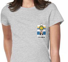 "Bones ID Shirt Dr. Temperance ""Bones"" Brennan Womens Fitted T-Shirt"