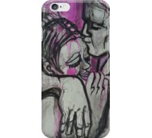 Lovers - Hugs and Kisses iPhone Case/Skin