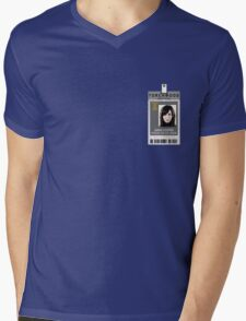 Torchwood Gwen Cooper ID Shirt Mens V-Neck T-Shirt