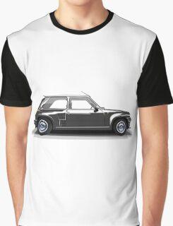 Renault 5 Turbo (black) Graphic T-Shirt