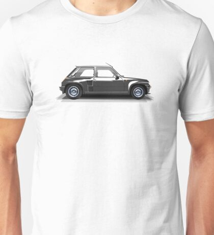 Renault 5 Turbo (black) Unisex T-Shirt