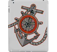 Anchor BW iPad Case/Skin