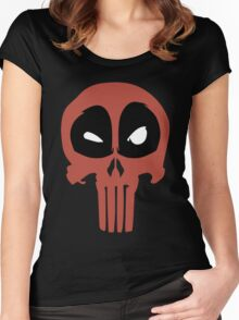 PunisherPool Women's Fitted Scoop T-Shirt