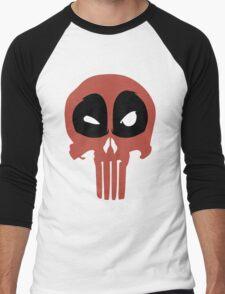 PunisherPool Men's Baseball ¾ T-Shirt