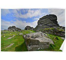 Dartmoor: Hound Tor Poster