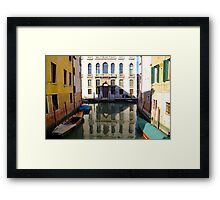 All About Italy. Venice 15 Framed Print