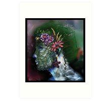 Gaïa - Mother nature Art Print