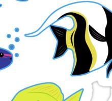 Clownfish and Friends Pattern Sticker