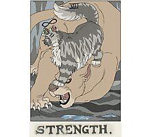 Warriors Tarot Series- Strength Photographic Print
