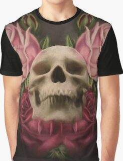 Skull And Rose's 3 Graphic T-Shirt