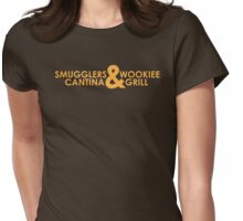 Smuggler's & Wookiee's Womens Fitted T-Shirt